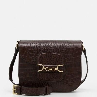 レディース ショルダーバッグ DIANA - Across body bag - brown