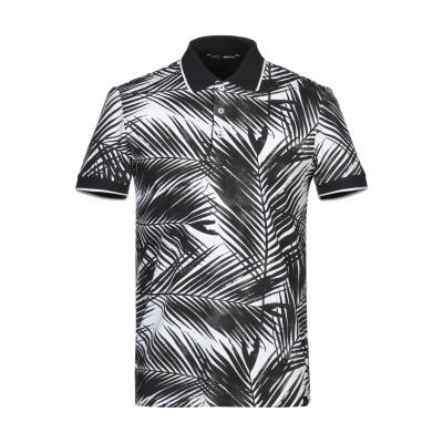 GAS ポロシャツ ブラック S コットン 95% / ポリウレタン 5% ポロシャツ