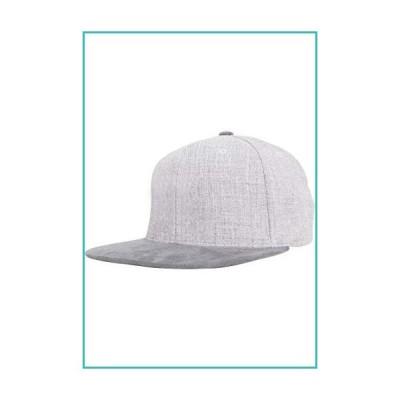 Flexfit Unisex's Melange Velour Snapback Grey one Size Yupoong Headwear【並行輸入品】