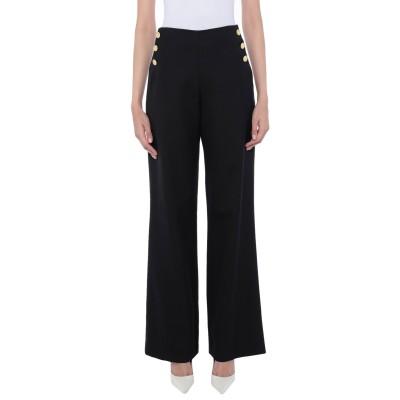 EDWARD ACHOUR パンツ ブラック 40 ウール 97% / ナイロン 3% パンツ