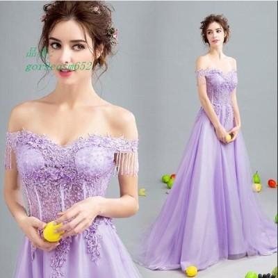 ウエディングドレス 二次会 結婚式 披露宴 舞台衣装 ロング 司会者 花嫁