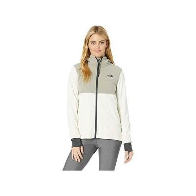 ザ・ノースフェイス Mountain Sweatshirt Full Zip レディース コート アウター Silt Grey/Vintage White