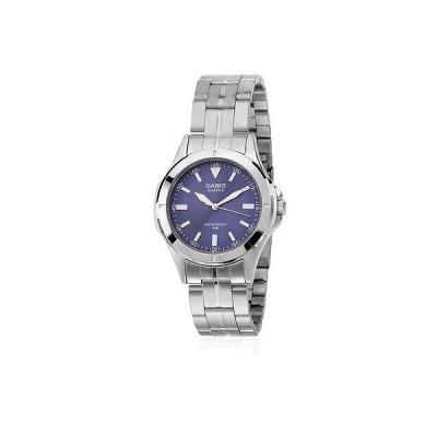 カシオ 腕時計  Casio MTP1214A-2A メンズ ステンレス スチール 50M ドレス 腕時計 ブルー ダイヤル Luminous Hands