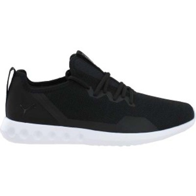 プーマ メンズ スニーカー シューズ Carson 2 X Knit Running Shoes Puma Black / Puma Black