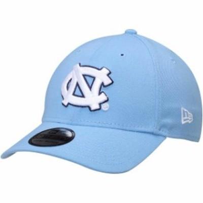 New Era ニュー エラ スポーツ用品  New Era North Carolina Tar Heels Carolina Blue College Classic 39Thirty Flex Hat