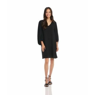 カレンケーン ワンピース トップス レディース Bishop Sleeve Dress Black