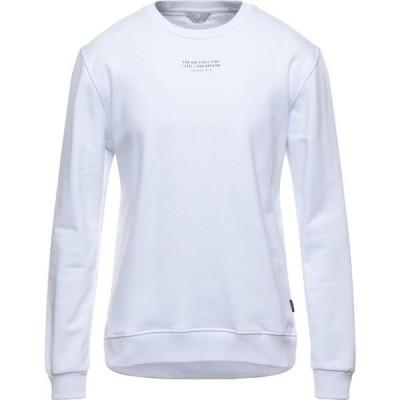 センス SSEINSE メンズ スウェット・トレーナー トップス Sweatshirt White