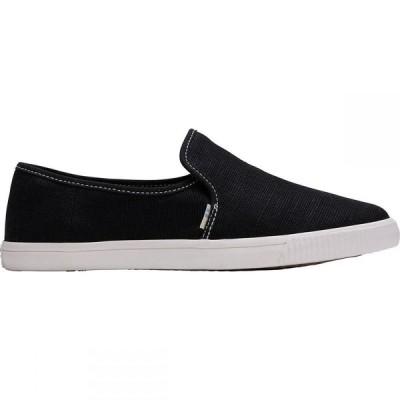 トムス Toms レディース スニーカー シューズ・靴 Clemente Shoe Black Canvas