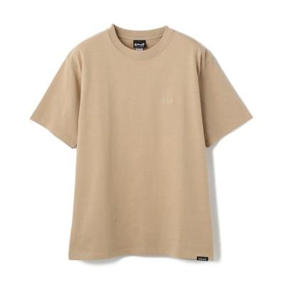 【ショット】 ONE POINT T-SHIRT/ワンポイント Tシャツ メンズ BEIGE L Schott