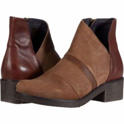 ナオト Naot レディース シューズ・靴 Emerald Antique Brown Suede/Brown Leather Combination