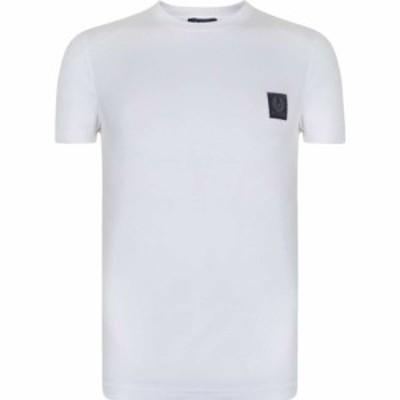 ベルスタッフ BELSTAFF メンズ Tシャツ トップス Throwley T Shirt White SMU