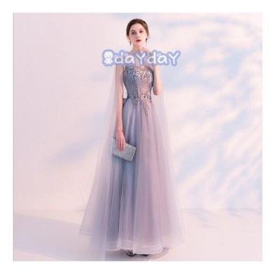 ドレス    レディース 結婚式 発表会  二次会 ピアノェミニン  無袖 ロング丈     ナイトドレス プリンセス