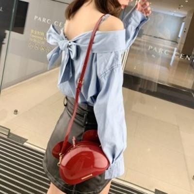 ブラウス レディース 長袖 襟付き 肌見せ 大きいサイズ おしゃれ かわいい カジュアル セクシー ガーリー デート 女子会 春 夏