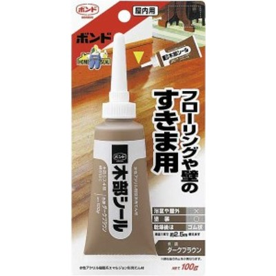 ボンド 木部シール ダークブラウン 100g(ブリスターパック) 1箱(10個)#50624【コニシ】