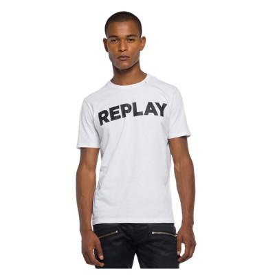 tシャツ Tシャツ ベーシックジャージークルーネック ロゴTEE