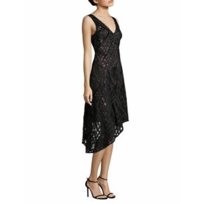 エイダンマトックス レディース ワンピース Sleeveless Asymmetrical Hem Cocktail Dress