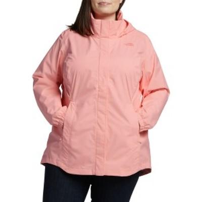 ノースフェイス レディース ジャケット&ブルゾン アウター The North Face Women's Plus Size Resolve II Parka ImpatiensPink
