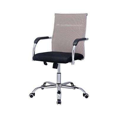 Hodedah Import Mesh Office Chair Black