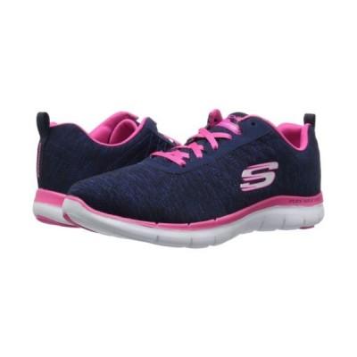 アスレチックシューズ スケッチャーズ Skechers Flex Appeal 2.0 Navy Pink 12753/NVPK Women's Shoes
