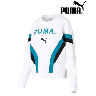 プーマ CHASE ウィメンズ LS トップ PUMA レディース トップス トレーナー トップス スウェット ロゴ