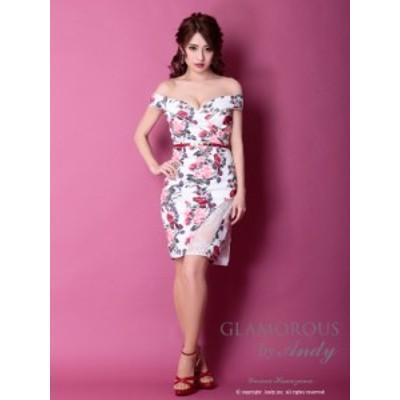 GLAMOROUS ドレス GMS-V619 ワンピース ミニドレス Andyドレス グラマラスドレス クラブ キャバ ドレス パーティードレス