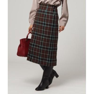 UNTITLED/FAIRY SHADE(フェアリーシェード) ヴィヴァーチェ タータンチェックナロースカート