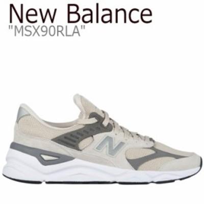 ニューバランス スニーカー NEW BALANCE メンズ レディース new balance X-90 ニューバランスX-90 BEIGE ベージュ MSX90RLA シューズ