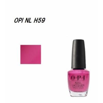 OPI ネイルカラー NL H59 15ml Kiss Me on My Tulips マニキュア ネイルカラー ネイリスト OPIカラー セルフネイル オーピーアイ ネイル