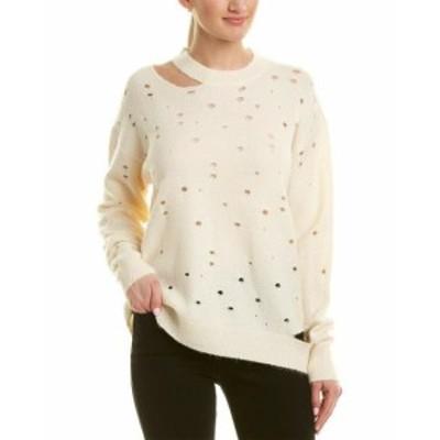 ASTR アストール ファッション トップス Astr The Label Distressed Sweater