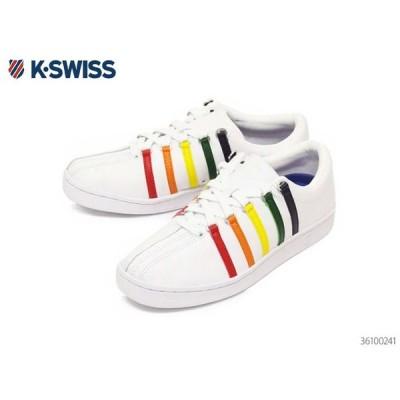 ケースイス クラシック 88 メン ズ レディース ホワイト/レインボー カジ ュアル デイリー スポーツ K-SWI SS Classic 88 BLACK 36100241 正規品