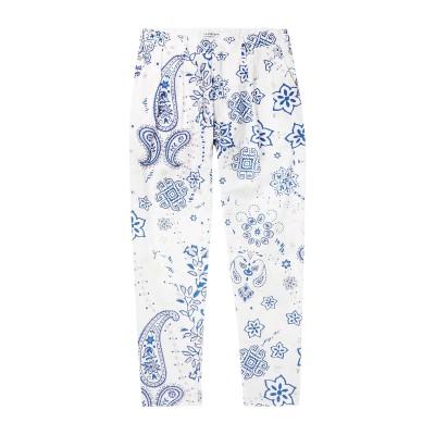 FLAGSTUFF パンツ ホワイト S コットン 100% パンツ
