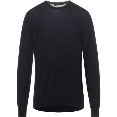 ブイネック VNECK メンズ ニット・セーター トップス Sweater Dark blue