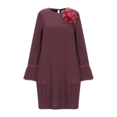 EMMA & GAIA ミニワンピース&ドレス ディープパープル 40 ポリエステル 97% / ポリウレタン 3% ミニワンピース&ドレス