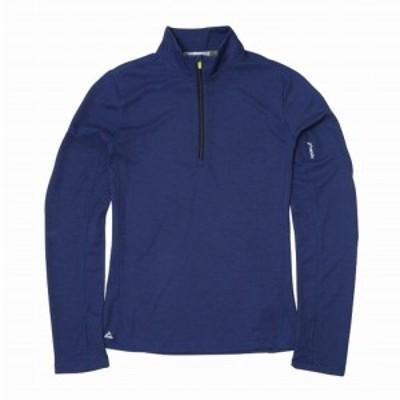 フェニックス(PHENIX)長袖Tシャツ TRIENT 1/2 ジップ PHA22LS61 IND(Lady's)