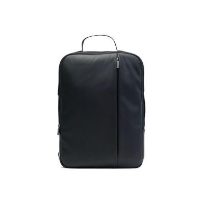 【ギャレリア】 モレスキン リュック MOLESKINE クラシック プロフェッショナル デバイスバッグ バーチカル(縦型)15インチ ブリーフケース B4 ビジネスバッグ ユニセックス ブラック F GALLERIA