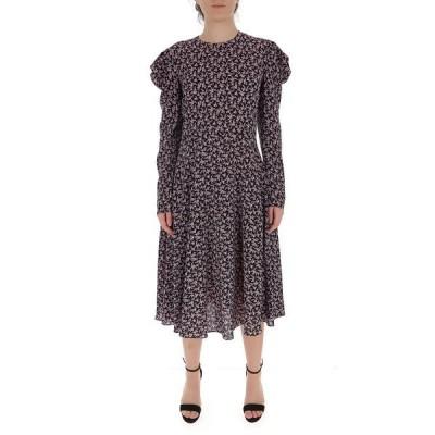 フィロソフィーデロレンゾセラフィーニ レディース ワンピース トップス Philosophy Di Lorenzo Serafini Printed Midi Dress -