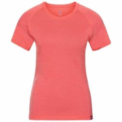 odlo オドロ アウトドア 女性用ウェア Tシャツ odlo koya-ceramiwool