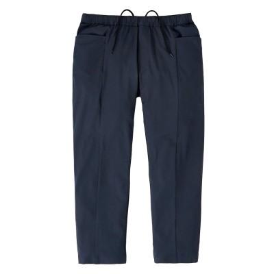 吸汗速乾ストレッチ素材カジュアルセットアップスーツ(スラックス) イージーパンツ, Pants