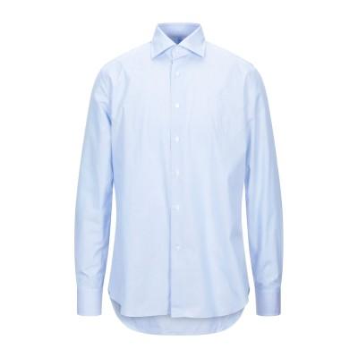 ALESSANDRO GHERARDI シャツ スカイブルー 45 コットン 100% シャツ