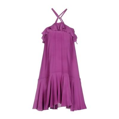 ディースクエアード DSQUARED2 ミニワンピース&ドレス モーブ 40 シルク 100% ミニワンピース&ドレス