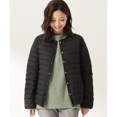 (Demi-Luxe BEAMS/デミルクスビームス)Traditional Weatherwear / ARKLEY ショート ライトダウン/レディース BLACK