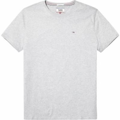 トミー ヒルフィガー Tommy Hilfiger メンズ Tシャツ トップス Original Jersey T-Shirt Light Grey