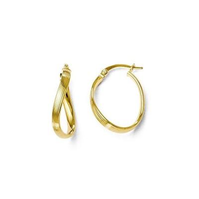 Finejewelers 14k ポリッシュ フープ Earrings(海外取寄せ品)