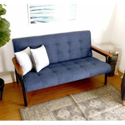 ソファー 2人掛け ソファ 二人掛け 2人用 ダイニングベンチ ダイニングチェア 椅子 おしゃれ 北欧 安い 木製 二人用 一人暮らし ブルー