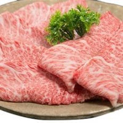 三重県産和牛メスまと場牛ロース薄切り肉 (500g)