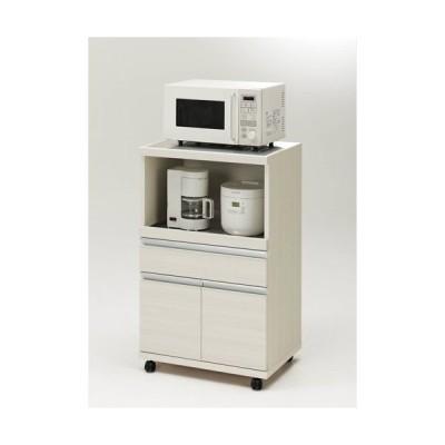 レンジ台 レンジボード レンジラック 食器棚 キッチンラック 完成品 幅60 奥行45 炊飯器 スリム キャスター レンジワゴン