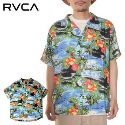 SALE セール RVCA メンズ KAWELA SS ショートスリーブシャツ 2021年 春夏モデル