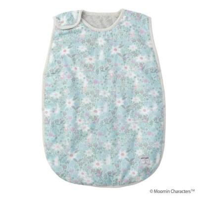 ダッドウェイ DAD WAY ムーミンベビー Moomin Baby 中綿入りスリーパー ブルーム/ミント APMB0110974