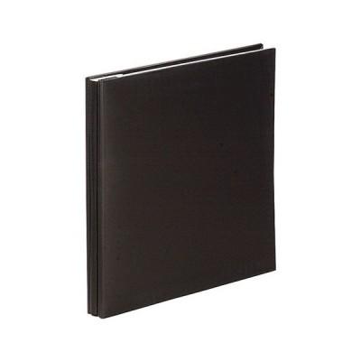 ナカバヤシ フエルアルバム Digio ビス式 100年台紙 デミサイズ スウィートカラーズ ブラック アH-DF-132-D