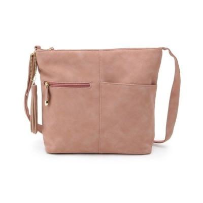 ショルダーバッグ バッグ 長財布収納ポケット付きスクエアショルダーバッグ
